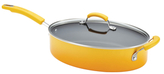 Rachael Ray 5QT. Large Oval Covered Saute Pan