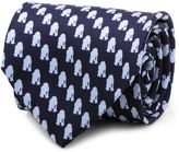 Star Wars Star WarsTM Silk R2-D2TM Tie in Tonal Blue