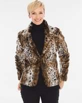 remove Animal Faux-Fur Jacket