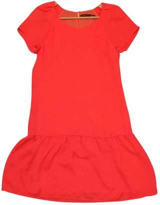 Comptoir des Cotonniers \N Orange Silk Dress for Women
