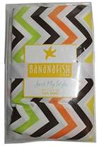 Banana Fish BananaFish Studio Collection Zig Zag Crib Bedding Skirt