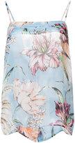 Fausto Puglisi floral print cami top - women - Silk - 40