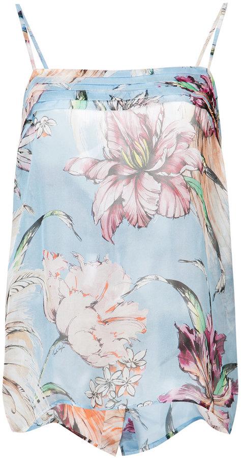 Fausto Puglisi floral print cami top