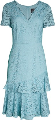 Adrianna Papell Felicity Lace Sheath Dress
