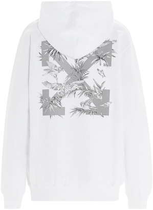 Off-White birds Reflective Hoodie