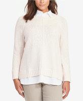 Lauren Ralph Lauren Plus Size Layered Sweater