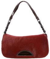 Christian Dior Ponyhair Malice Flap Bag