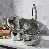 Crate & Barrel Viking Contemporary 7-Piece Cookware Set