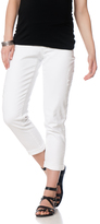 A Pea in the Pod Jeans Secret Fit Belly Maternity Crop Jeans