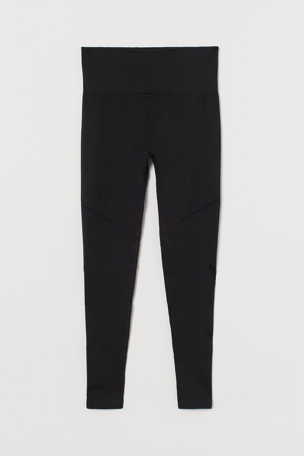 Thumbnail for your product : H&M Seamless sports tights