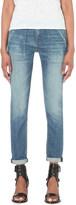Rag & Bone Carpenter Dre boyfriend mid-rise turn-up jeans
