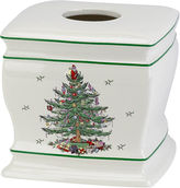 Spode Christmas Tree Tissue Holder