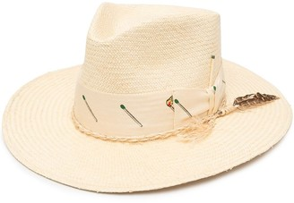 Nick Fouquet Pontillac straw hat