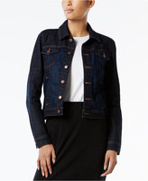 Eileen Fisher Cropped Denim Jacket
