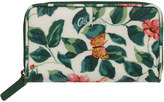 Cath Kidston Leaf Print Small Continental Wallet