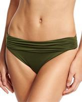 Vitamin A Convertible-Waist Swim Bottom, Green
