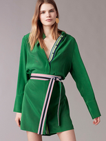 Diane von Furstenberg Long Sleeve Shirt Dress