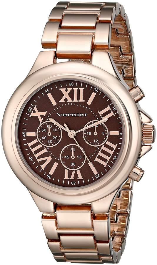 Vernier Women's VNR11157RG Rose Gold-Tone Watch