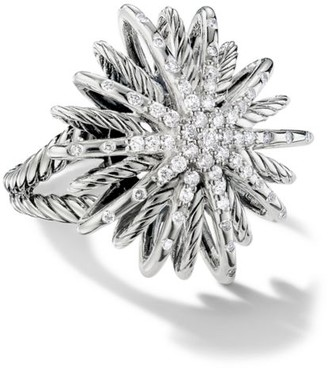 David Yurman Starburst Ring with Diamonds