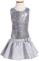 Nanette Lepore Girl's Sleeveless Sequin Dress