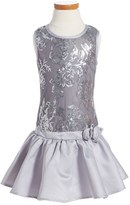 Nanette Lepore Sleeveless Sequin Dress (Big Girls)