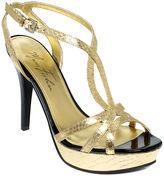 Marc Fisher Shoes, Toohot Platform Evening Sandals