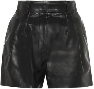 Alaia Leather shorts