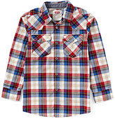 Levi's Levis Little Boys 4-7 Barstow Plaid Western Shirt