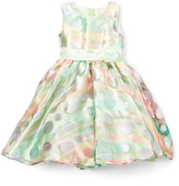 Mint & Pink Bubble Dress - Infant Toddler & Girls