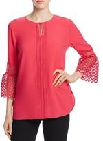 Elie Tahari Deena Bell Sleeve Blouse - 100% Exclusive