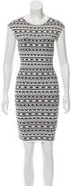 Torn By Ronny Kobo Patterned Knit Dress