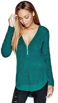 G by Guess GByGUESS Women's Christa Zip Sweater