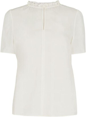 Whistles Ella Check Shell Top