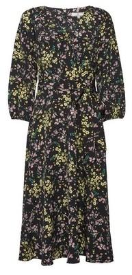 Dorothy Perkins Womens Billie & Blossom Tall Black Floral Print V