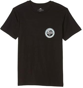 O'Neill Kids Kids Roundstuff T-Shirt (Big Kids) (Black) Boy's Clothing
