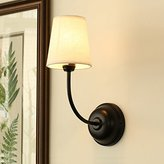 Leihongthebox Wall Sconce Industrial Edison retro style Wall lamp led fabrics Wall Sconce lights, (Oil Rubbed Bronze)