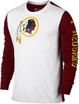 Nike Men's Washington Redskins NFL Championship Drive 2.0 Long-Sleeve T-Shirt
