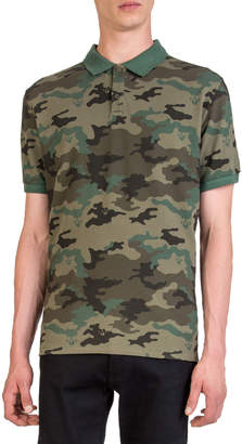The Kooples Men's Camouflage Polo Shirt
