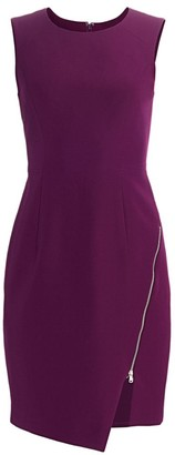 Milly Cady Zipper Sheath Dress