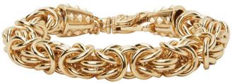 Emanuele Bicocchi Gold Byzantine Chain Bracelet