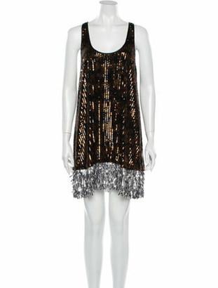 Rachel Comey Scoop Neck Mini Dress w/ Tags Brown