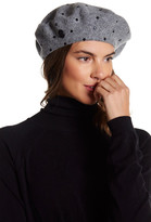 Vince Camuto Studded Wool Beret