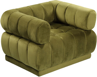 Chic Home Quebec Green Club Chair