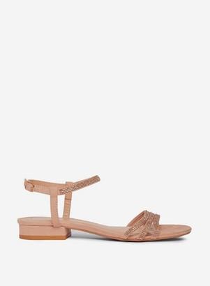 Dorothy Perkins Womens Nude 'Soo' Heeled Sandals