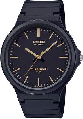 Casio Classic Quartz Watch with Resin Strap Black 21.45 (Model: MW-240-1E2VCF)