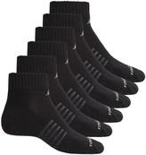New Balance Quarter Core Cotton Socks - 6-Pack, Quarter Crew (For Men)
