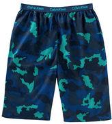 Calvin Klein Camouflage Sleep Shorts