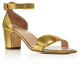 Rupert Sanderson Women's Melissa Leather Block Heel Sandals