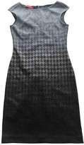 Carolina Herrera Grey Wool Dress for Women