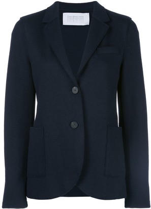 Harris Wharf London Single-Breasted Fitted Blazer